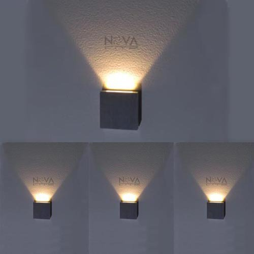 Lighting Basement Washroom Stairs: Indoor Step Light, LED Stair Lighting Square Slim Wall