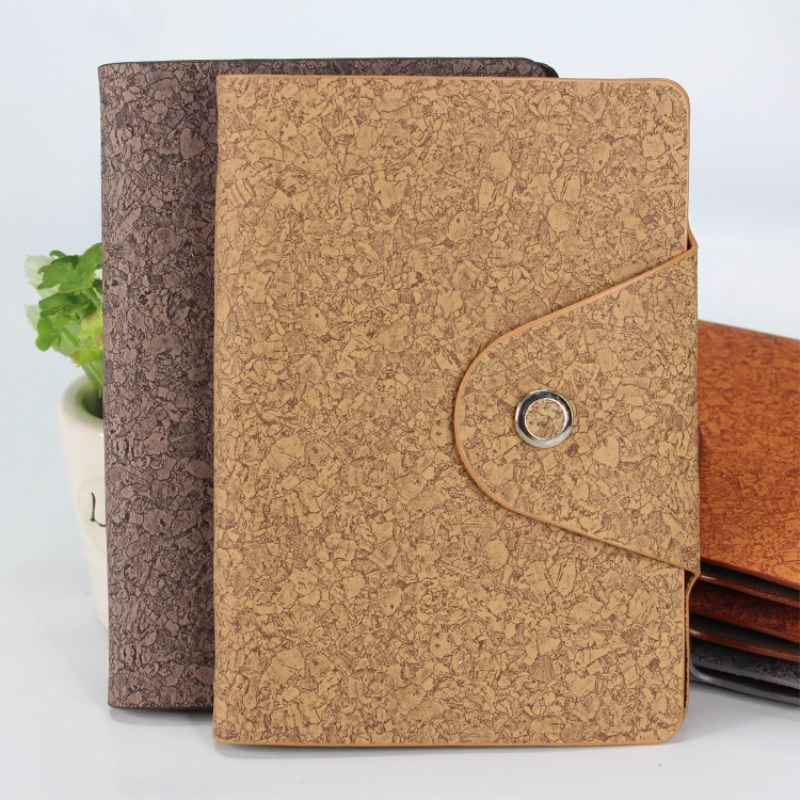 Customized logo A5 pu leather journal 노트북, OEM production hard cover pu 노트북, plain/통치/그리드 학생 노트북