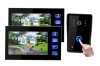 "7"" LCD Video Door Phone Bells Intercom ,SD card record Doorbell,Ultra-slim design indoor monitor,"