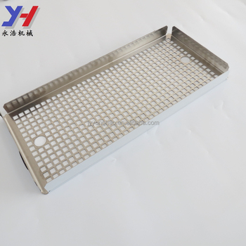 OEM ODM Custom Made Metal Stamped Stainless Steel Drip Tray for Restaurant