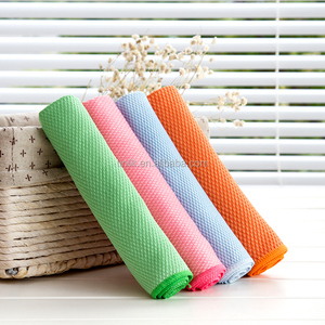 40*40CM Multi-functional French Terry Microfiber Cleaning Cloth