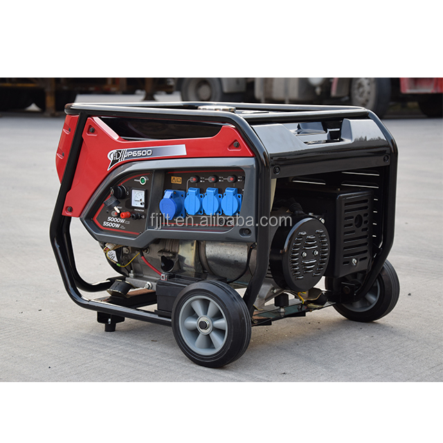 Power Wert 2kw 3kw 4kw 5kw 6.5kw 8500 Watt Portable Generator Benzin