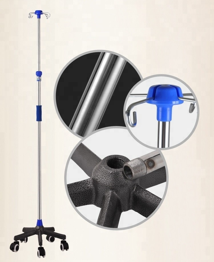 Hospital Drip Stand IV Stand Infusion Pole from China