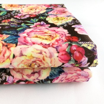 Superior quality 150d polyester fabric custom print cotton fabric wholesale