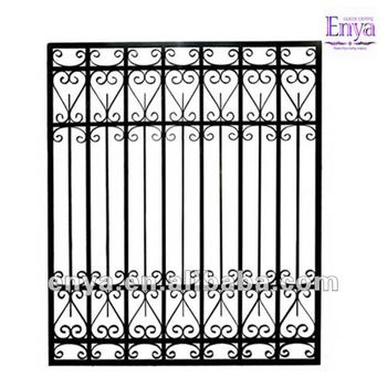 Delightful Garden Fence Panel, Commercial Wrought Iron Fencing Panel