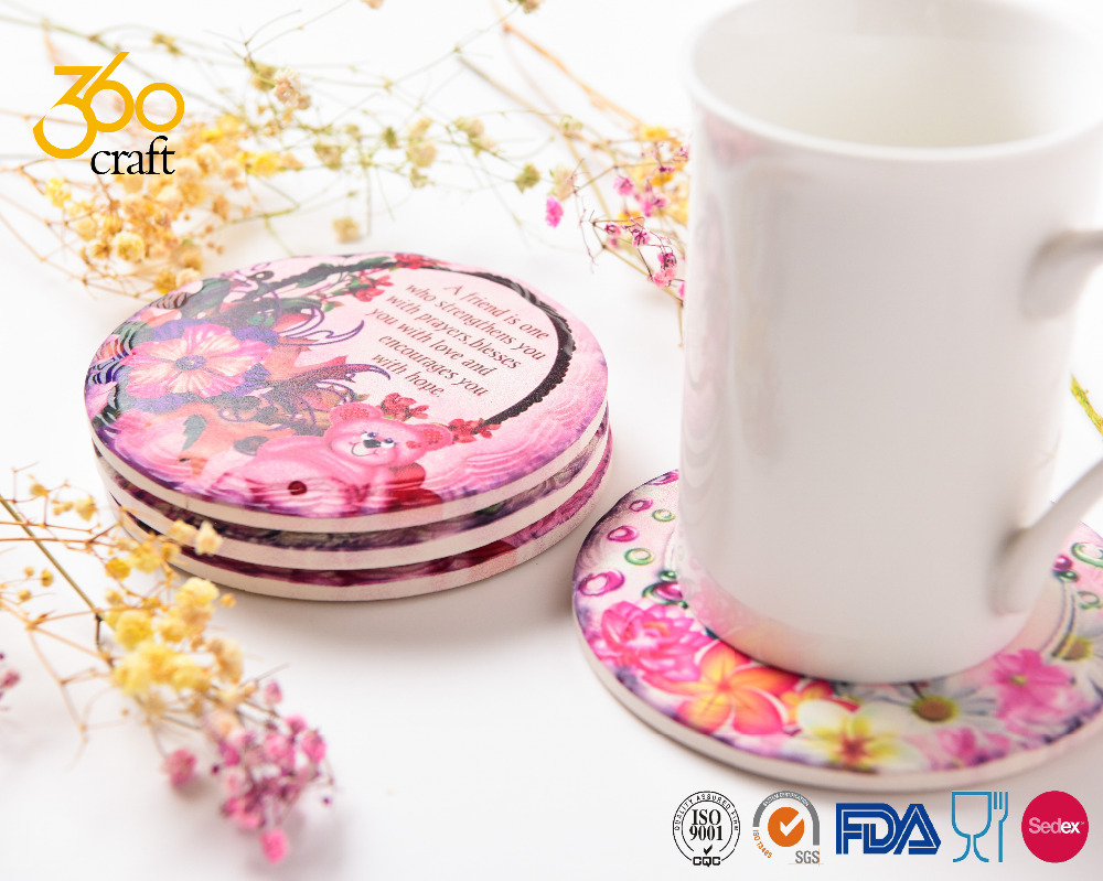 Glass Round Coaster, Glass Round Coaster Suppliers and Manufacturers ...