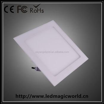 200x200mm Led Square Panel Light / Hot Sale Ultra-thin Recessed ...