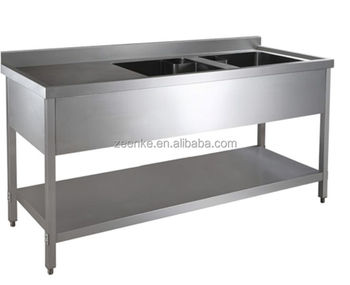 Commercial Kitchen Wash For Sale /#201 Stainless Steel Two- Sink ...