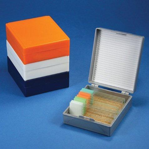 United Scientific WSB050 Wooden Slide Storage Box Holds 50 Slides United Scientific Supplies