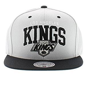 8d0be4662d8 Mitchell and Ness NHL Los Angeles Kings Arch 2 Tone Grey Snapback Cap