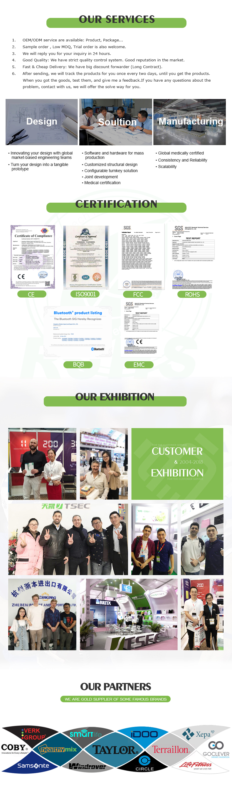 Exhibition & Partner