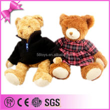 OEM/ODM children favorite animal toy clothing stuffed bear for sale