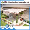 China best 2017 electric remote control pts retractable balcony folding shade awning canopy