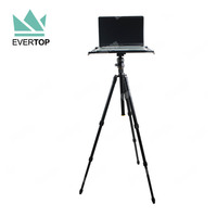 TS-TT01B Professional Portable Tripod Stand, Aluminium Photo Tether table Flexible Tethering Platform for Photography & Laptop