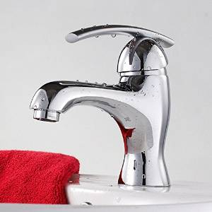Furesnts Modern home kitchen and bathroom faucet Copper bathroom taps sink cold and hot Mixed taps 1 handle taps taps bathtub, basin taps,(Standard G 1/2 universal hose ports)