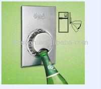 Novelty shape Stainless Steel Magnetic Fridge Bottle Opener beer fridge magnet bottle opener