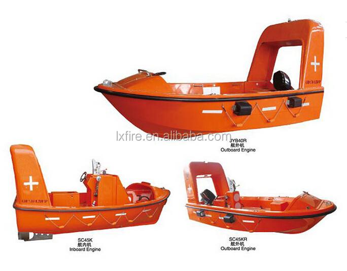 Marine Fast Rescue Boat,Rigid Inboard Engine Rescue Boat Sc45k ...