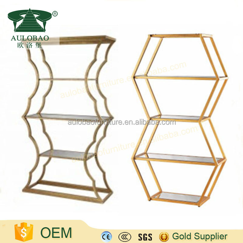 Fashion design stainless steel bar shelves for sale