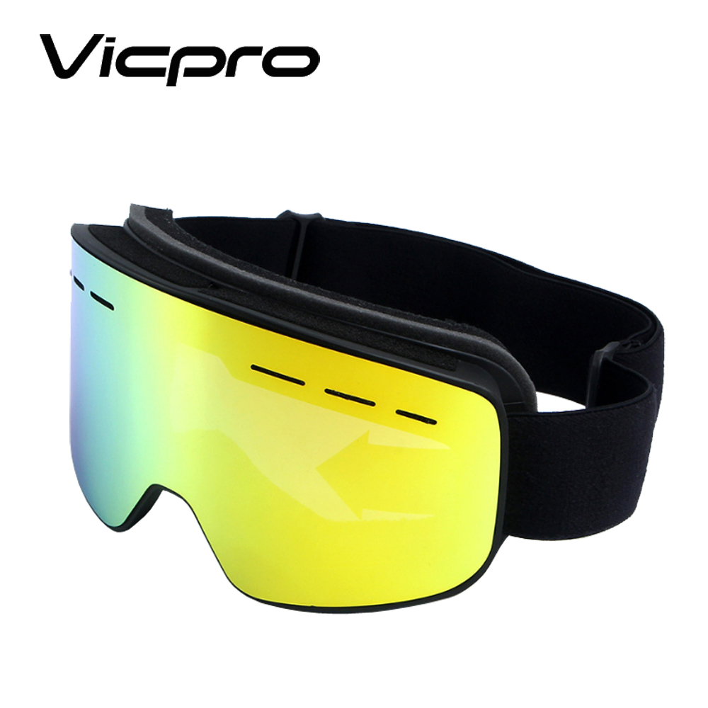 스키 고글 스노우 보드 눈 Winter Sports Glasses 대 한 Men Women Youth Anti-Fog UV Protection, Polarized Lens Available