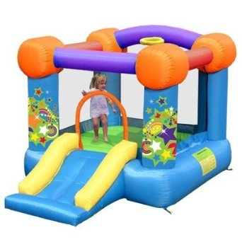 Kidwise Party Bouncer With Slide Bounce House - QT-KWSSD-9070