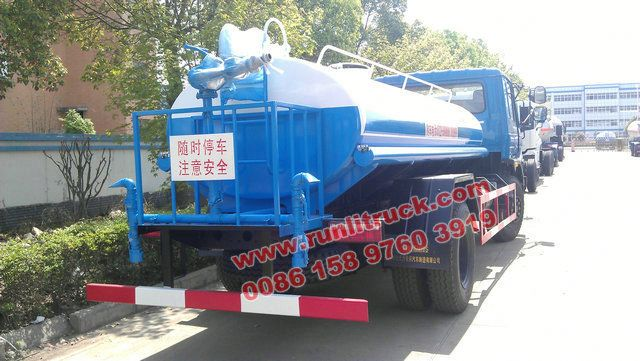 12cbm watering tank truck via dongfeng for hot sales