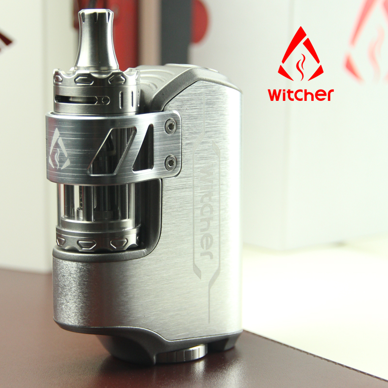 China Suppier Rofvape 75W Witcher Pandora Melody Box Mod Clone With 3 Coils And Replace Grass