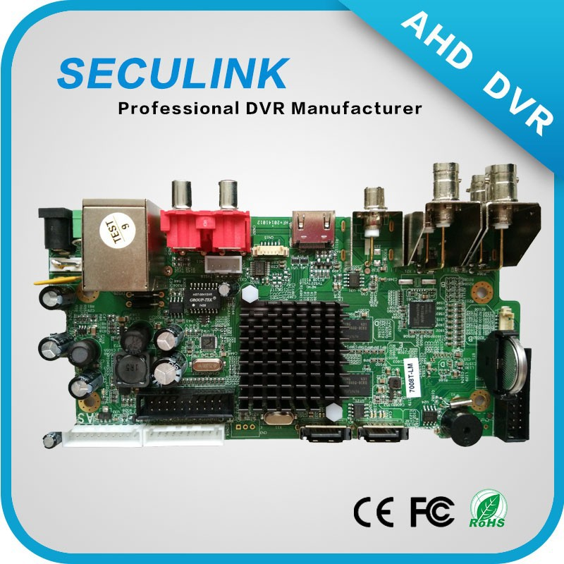 720p Hd Dvr Boards,Ahd Dvr Boards,Hd Dvr Pcb