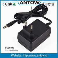 Steady output power 24W 24v 1a power adapter