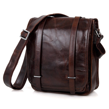 7109c Cowhide Leather Messenger Best Bag For College Minimalist Stylish Bags Men