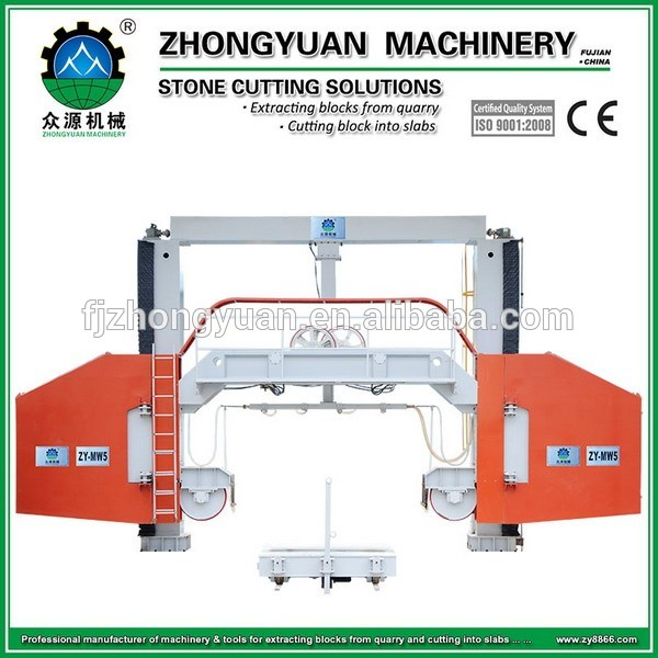 Best Sell Multi Wire Saw Machine For Granite Slab Cutting - Buy ...