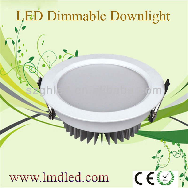 2013 New Design For dimmable 5w cob led downlight with wifi control