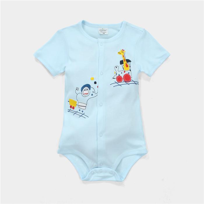 Sr 242b Soft Baby Cotton Romper Cartoon Custom Design Baby Romper