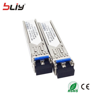 Gigabit Ethernet Media Converter sfp module 1x 10/100/1000Base-T RJ45 to 1x 1000Base-X optical fiber transceiver