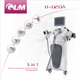 5 in 1 RF vacuum roller body shaper and arm fat reduction machine