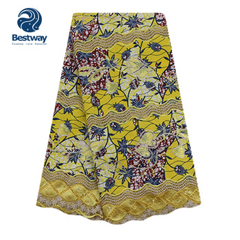 Shanghai Bestway China Wholesale African Nigerian Evening Dress Fabrics