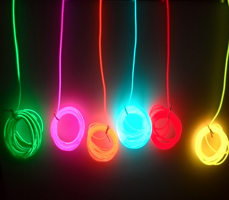 2.3mm/3.2mm flexible neon wire lighting