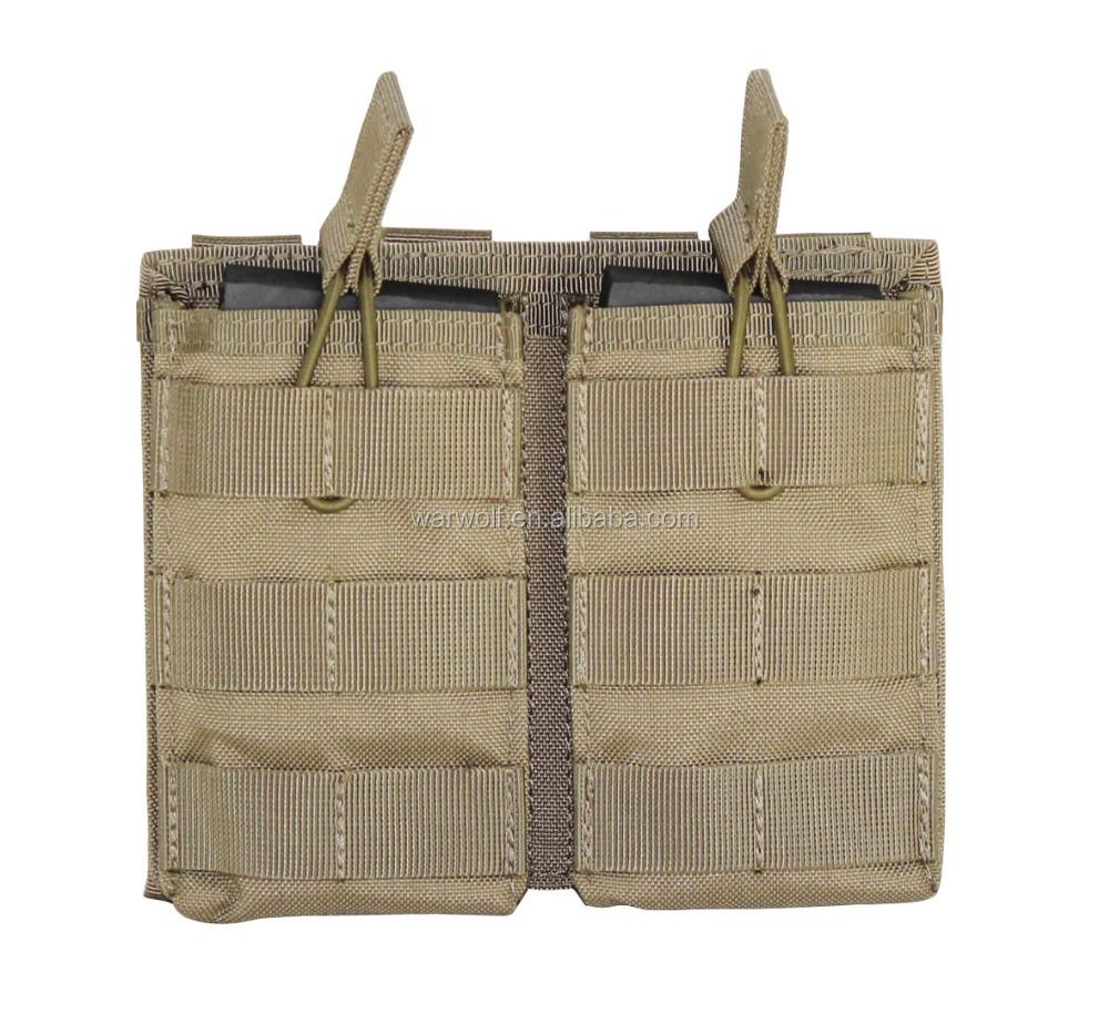 mesh magazine pouch Open Top Mag Holder triple/ Double/single option