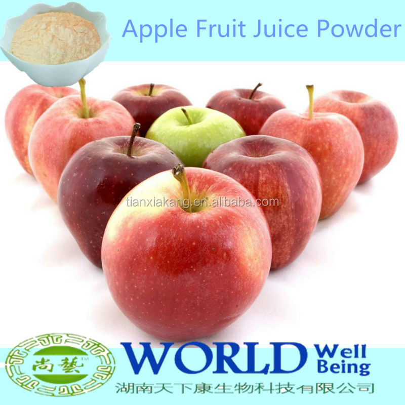 100% Natural Pure Spray Dried Apple Juice Powder/Apple Juice Concentrate/Apple Tea Powder
