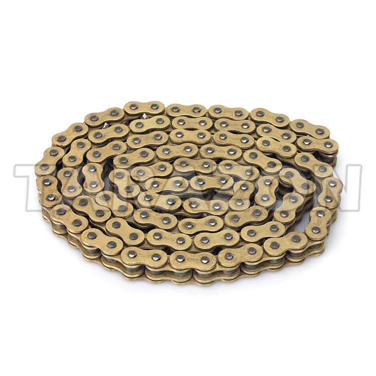 520 x 120 Links Motorcycle ATV PURPLE O-Ring Drive Chain 520-Pitch 120-Links