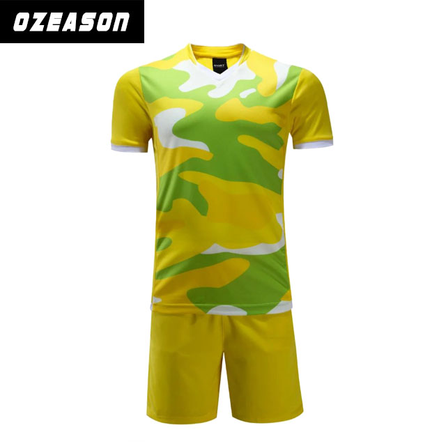 Sublimation Custom design your own sports soccer jersey football uniforms