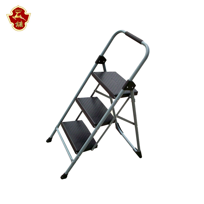 folding home use heavey duty durable steel step stool ladder