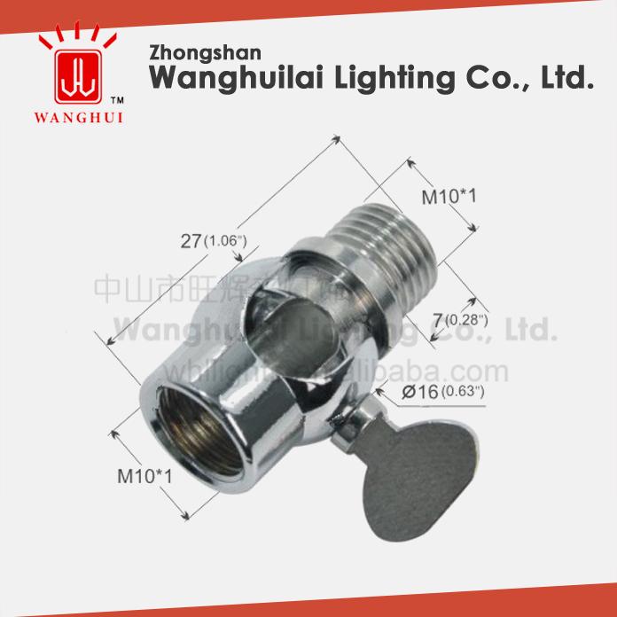 Brass iron universal swivel joint for lamp buy