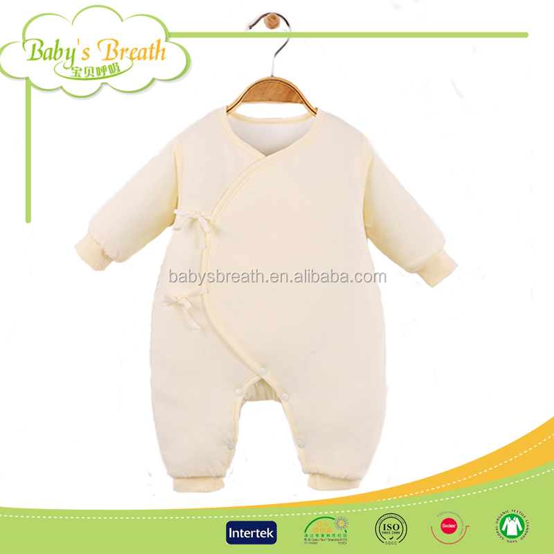 BCA36 Gots Certified Name Brand 1 Year Old Bamboo New Born Baby Boy Winter Clothes