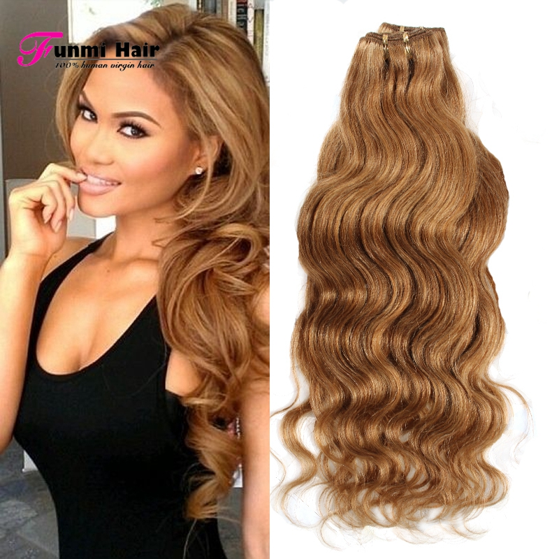 Popular Honey Blonde Brazilian Hair Weave Buy Cheap Honey Blonde