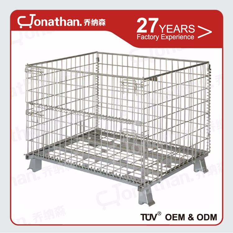 SXL-A high quality foldable large storage metal wire mesh crate