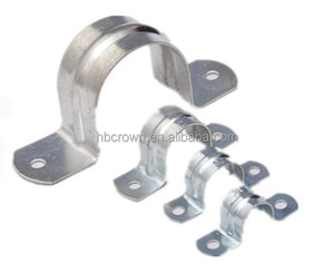 double pipe clamps u type hose clamp for stainless steel tube