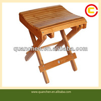 Collapsible Cool Bamboo Fishing Stool
