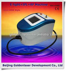 2013 Importer E-light+IPL+RF machine beauty equipment hair removal 2013 cold vapor facial steam beauty machine