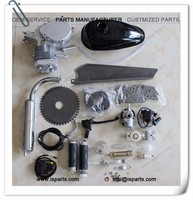 49cc 50cc 80cc Bicycle Engine Kits for Motorized Bike 2 Stroke Petrol Gas Silver
