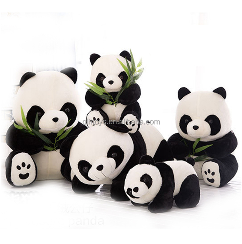 Animal Custom Plush Stuffed Pandas Bear Educational Toys For Kids Gift Giant Soft Doll Plush Panda Toy For Children